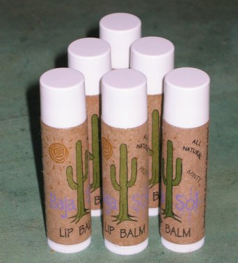 Lip Balm: Tubes of soothing lip moisturizer.