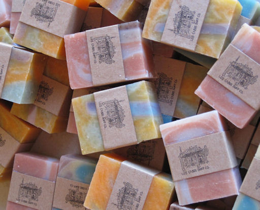 Anothe Selection of variously colored Los Cabos Soaps.